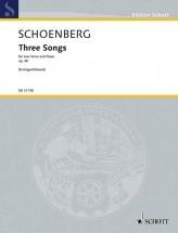 Schoenberg A. - Three Songs Op. 48 - Voix