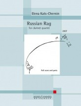 Kats-chernin E. - Russian Rag - Clarinette