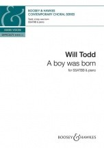 Todd W. - A Boy Was Born - Chorale