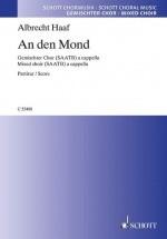 Haaf A. - An Den Mond - Chorale