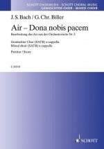 Bach J.c. - Air - Dona Nobis Pacem - Chorale