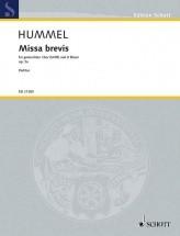 Hummel B. - Missa Brevis Op. 5a - Chorale