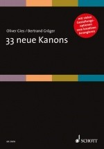 Gies O. - Groeger B. - 33 Neue Kanons - Voix