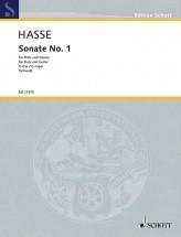 Hasse J. - Sonata No. 1 G Major - Musique De Chambre