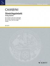 Cambini G. - String Quintet No. 84 D Major - Ensemble Cordes