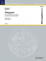 Say F. - Khayyam Op. 36 - Clarinette