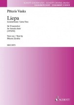 Vasks P. - Liepa (der Lindenbaum / The Lime Tree) - Chorale