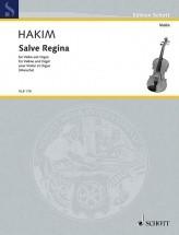 Hakim N. - Salve Regina - Violon