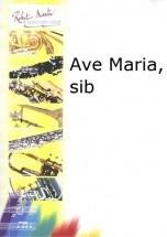 Schubert F. - Ave Maria Sib