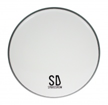 Sparedrum As12sw - Peau 12 Alverstone Smooth White - 1 Pli - 10 Mil