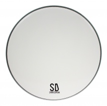 Sparedrum As14sw - Peau 14 Alverstone Smooth White - 1 Pli - 10 Mil