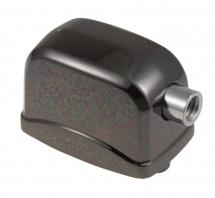 Sparedrum L17sdtt-bk - Coquille Caisse Claire / Tom - 25mm Noir (x1)