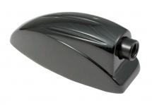 Sparedrum L6sdtt-bk - Coquille Caisse Claire / Tom - 38mm Noir (x1)