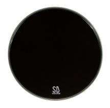 Sparedrum Pk16db-b - Gc 16 Powerkick Dark Black - 1 Pli + Muffler - 10 Mil