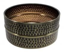 Sparedrum Sbhb14065 - 14 X 6.5 Fût Laiton Martelé Nickelé Noir (brass) - Caisse Claire