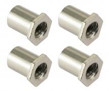 Sparedrum Sn-he-10b - Cheminee 10mm Tete Hexagonale - Laiton (x4)