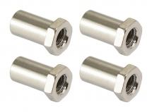 Sparedrum Sn-he-15b - Cheminee 15mm Tete Hexagonale - Laiton (x4)