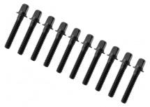 Sparedrum Trc-28-bk - Tirant 28mm Noir - Filetage 7/32 (x10)