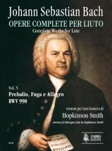 Bach J. S. - Complete Works For Lute Vol.5