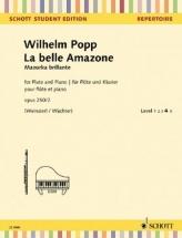 Popp Wilhelm - La Belle Amazone Mazurka Brillante Op.250/2 - Flute and Piano