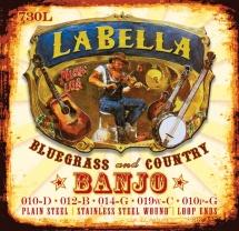 Labella Jeu De 5 Cordes Pour Banjo ? Stainless Steel ? 10/10