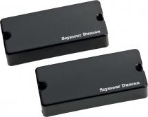 Seymour Duncan Asb-bo-4s - Kit Soapbar 4 Blackouts Noir