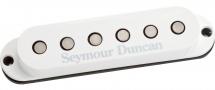 Seymour Duncan Ssl-6 - Custom Flat Strat Blanc