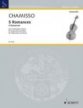 Mayran De Chamisso Olivier - 5 Romances - Violoncelle and Piano