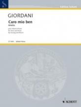 Giordani Tommaso - Caro Mio Ben - Chant & Piano