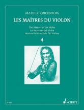 Crickboom M. - Les Maitres Du Violon Vol.4