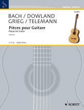 Bach / Dowland / Grieg / Telemann - Pieces Pour Guitare (alfonso)