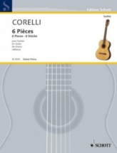 Corelli Arcangelo - Six Pieces - Guitare