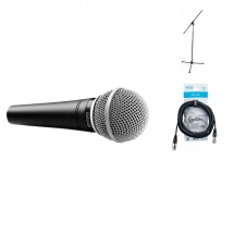 Shure Sm48-lc + Pied + Cable