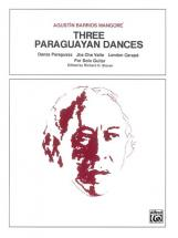 Three Paraguyan Dances - Guitar