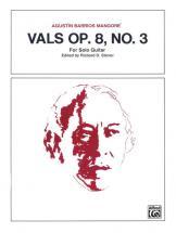 Vals Op 8, No3 - Guitar