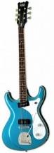 Eastwood Sidejack Baritone Deluxe Metallic Blue