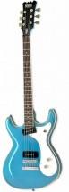 Eastwood Sidejack Baritone Metallic Blue
