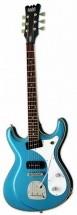 Eastwood Sidejack Dlx Metallic Blue
