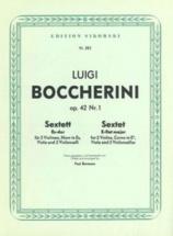 Boccherini L. - Sextett Es-dur, Für 2 Violinen, Horn In Es, Viola Und 2 Violoncelli