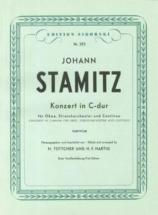 Stamitz J. - Concerto Pour Hautbois En Do Majeur - Reduction