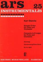 Stamitz Konzert D-dur Für Flöte Und Orchester