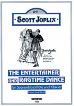 Joplin S. - The Entertainer Und Ragtime Dance, Flb Sop. Et Piano