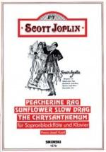 Joplin S. - Peacherine Rag... - Flb Soprano Et Piano