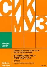 Chostakovitch Dimitri - Symphonie N°9 Op.70 - Pocket Score