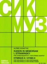 Schnittke Alfred - Hymnus Ii - Kanon In Memoriam Igor Stravinsky
