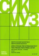 Chostakovitch D. - Prelude & Scherzo For String Octet Op.11 - Conducteur