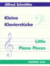 Schnittke Alfred - Kleine Klavierstücke