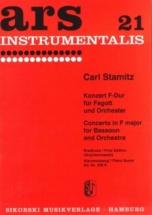 Stamitz Karl - Konzert F-dur Für Fagott Und Orchester