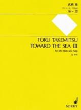 Takemitsu Toru - Towards The Sea Iii - Flute Alto and Harpe