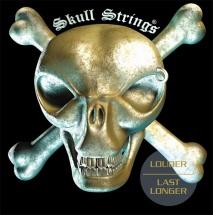 Jeu De Cordes Guitare Electrique Skull Strings Regular Drop C 11-15-18-32-44-58